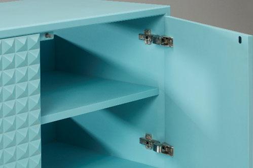 Corian cabinet door fixings & Stuart Melrose Cabinet: Door hinges - Squirrel Fixings