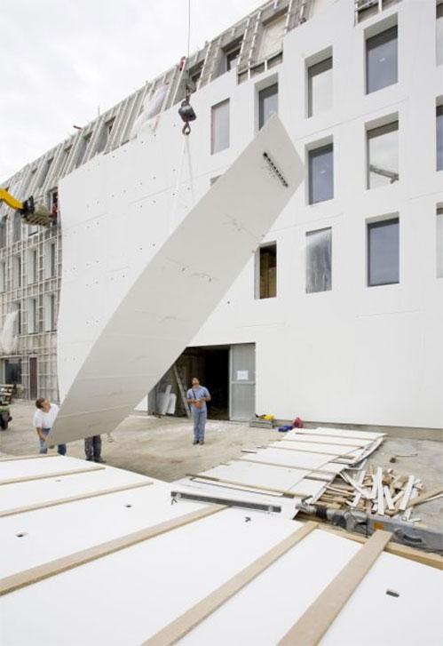 Corian wall cladding fixings